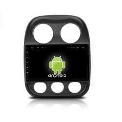 Auto Rádio GPS USB Bluetooth Jeep Compass Android