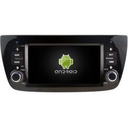 Auto Rádio FIAT DOBLO GPS Bluetooth USB Android