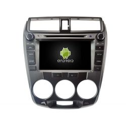 Auto Rádio HONDA CITY 2008-2012 GPS DVD Bluetooth Android