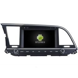Auto Rádio HYUNDAI ELANTRA 2016 GPS DVD Bluetooth Android