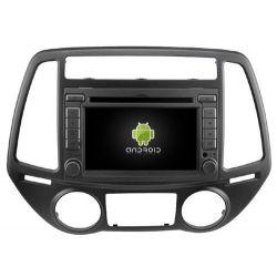 Auto Rádio HYUNDAI I20 2012 GPS DVD Bluetooth Android