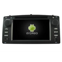 Auto Rádio Toyota Corolla 2004 2005 2006 2007 GPS DVD Bluetooth Android