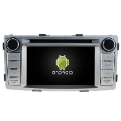 Auto Rádio Toyota Hilux 2012 GPS DVD Blueooth Android