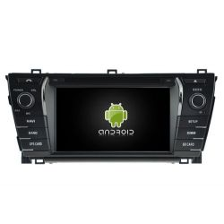Auto Rádio Toyota Corolla 2014 GPS DVD Bluetooth Android