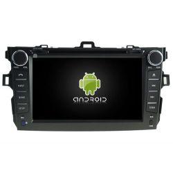 Auto Rádio Toyoya Corolla 2007 a 2012 GPS DVD Bluetooht Android
