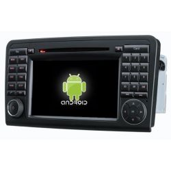 Auto Rádio MERCEDES-BENZ ML W164 2005 a 2012,GL X164 (2005 a 2012) GPS DVD Bluetooth Android