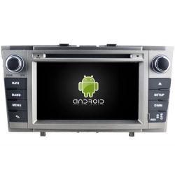 Auto Rádio Toytota Avensis 2008 a 2014 GPS DVD Bluetooth Android