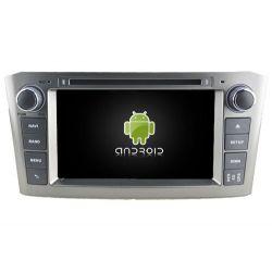 Auto Rádio Toyota Avensis 2005 a 2007 GPS DVD Bluetooth
