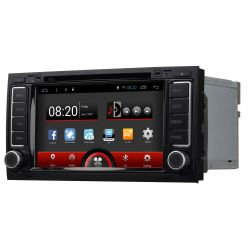 Auto Rádio GPS DVD Bluetooth VW Touareg Android