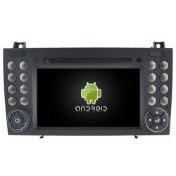Auto Rádio GPS DVD Bluetooth Android Mercedes SLK R171 E W171 2004 a 2011 Android