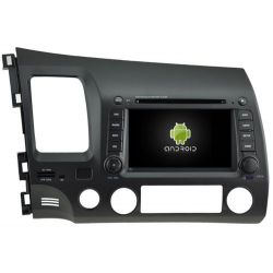 Auto Rádio Honda Civic GPS DVD Bluetooth de 2006 a 2011