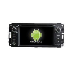 Auto Rádio JEEP GPS DVD Bluetooth Android Wrangler Liberty Patriot Compass Commander