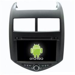 Auto Rádio GPS DVD Bluetooth Chevrolet Aveo Sonic 2011 a 2014