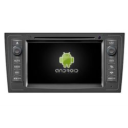 Auto Rádio Audi A6 GPS DVD Bluetooth Android de 1997 a 2004