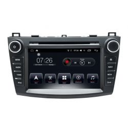 Auto Rádio Mazda 3 2010 a 2013 GPS DVD Bluetooth Android