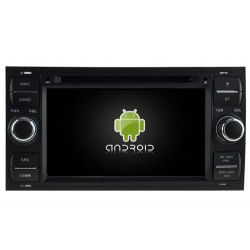 Auto Rádio Ford Focus, Mondeo, S-Max, C-Max , Fiesta, Galaxy, Transit, Fusion e Kuga GPS DVD Bluetooth Android