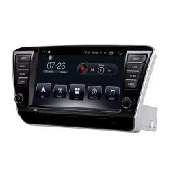 Auto Rádio Skoda Superb 2015 2016 2017 GPS Bluetooth USB Android