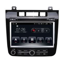 Auto Rádio VW Touareg GPS Bluetooth USB 2012 2013 2014 2015 Android