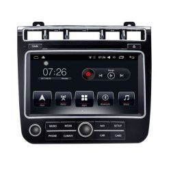 Auto Rádio VW Touareg GPS USB Bluetooth 2016 2017 2018 Android