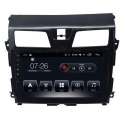Auto Rádio Nissan Teana GPS Bluetooth USB 2012 Android