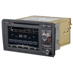 Auto Rádio Audi A3 GPS DVD Bluetooth Android 2003 2004 2005 2006 2007 2008 2009 2010 2011 2012
