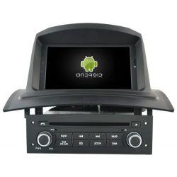 "Auto Rádio 7"" RENAULT Megane II/ Fluence (2002-2008) GPS DVD Bluetooth Android"