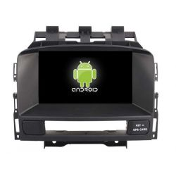 Auto Rádio Opel Astra J GPS DVD Bluetooth 2009 2010 2011 2012 2013 2014 2015 Android
