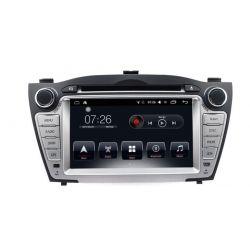 Auto Rádio HYUNDAI TUCSON e IX35 2009 2010 2011 2012 2013 GPS DVD Bluetooth Android