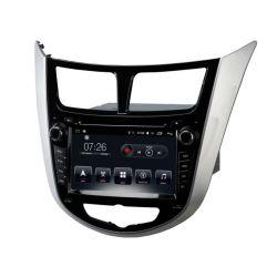 Auto Rádio HYUNDAI VERNA, ACCENT e SOLARIS 2011 2012 GPS DVD Bluetooth Android