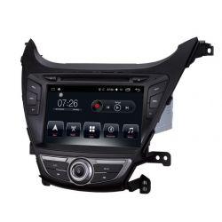 Auto Rádio Hyundai ELANTRA GPS USB Bluetooth 2014 2015 2016 2017 Android