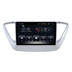 Auto Rádio Hyundai Verna Solaris 2016 2017 2018 GPS USB Bluetooth Android