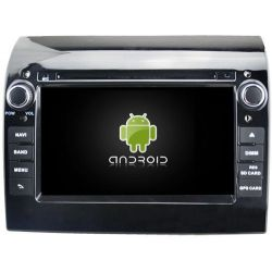 Auto Rádio FIAT DUCATO GPS DVD Bluetooth 2007 a 2016 Android