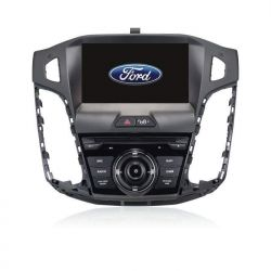 Auto Rádio Ford Focus GPS Bluetooth USB Android 2011 2012 2013 2014 2015 2016