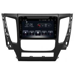 Auto Rádio Mitsubishi Pajero 2016 2017 2018 GPS Bluetooth USB Android