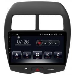 Auto Rádio Mitsubishi ASX 2013 2014 2015 2016 2017 2018 GPS Bluetooth USB Android