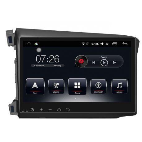 Auto Rádio Honda Civic 2012 2013 2014 2015 GPS Bluetooth USB Android