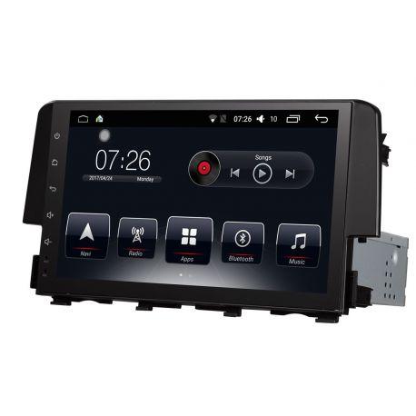 Auto Rádio Honda Civic 2009 2010 2011 GPS Bluetooth USB Android