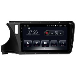 Auto Rádio Honda City 2015 2016 2017 GPS Bluetooth USB Android