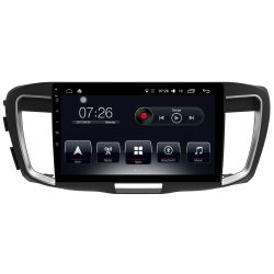 Auto Rádio Honda Accord 2014 2015 2016 2017 GPS Bluetooth USB Android