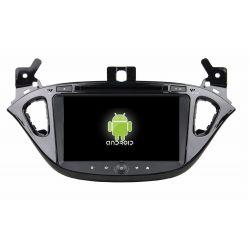 Auto Rádio Opel Corsa E GPS DVD Bluetooth 2016 2017 2018 Android