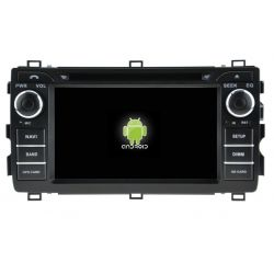 Auto Rádio Toyota Auris 2013 2014 2015 2016 2017 GPS DVD Bluetooth Android