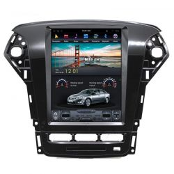 Auto Rádio Ford Mondeo GPS Bluetooth USB Multimédia Android Tipo Tesla 2011 2012 2013