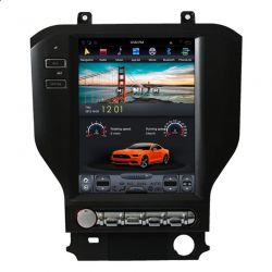 Auto Rádio Ford Mustang GPS Bluetooth USB Multimédia Android Tipo Tesla
