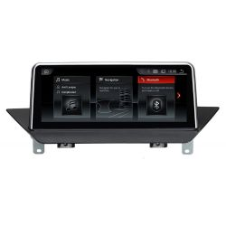 Auto Rádio BMW X1 E84 Android GPS USB Bluetooth de 2009 2010 2011 2012 2013 2014 2015