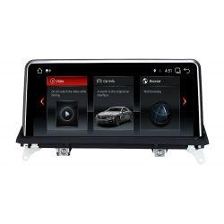 "Multimédia Android 10,25"" BMW X5 E70 2007~2009 X6 BMW X6 E71 2007~2009 CCC"