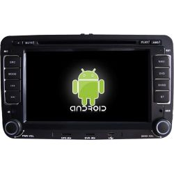 Auto Rádio VW, Seat e Skoda GPS Bluetooth USB Android