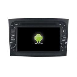 Auto Rádio Fiat Doblo GPS DVD Bluetooth Android 2015 2016 2017 2018
