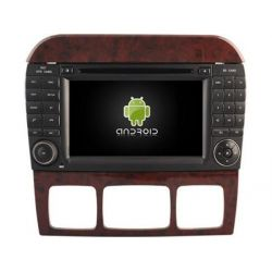 Auto Rádio Mercedes Benz Classe S W220 GPS DVD Bluetooth Android