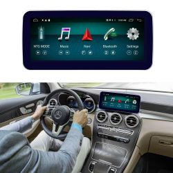 """Multimédia Android 10,25"""" Classe C W205, GLC X253, Classe V W446 e X BR470 com GPS UBS Bluetooth NTG 5.0 e NTG 5.1"""