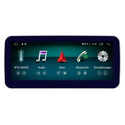 Multimédia Android Mercedes Classe E W212 com GPS USB Bluetooth 2013 e 2014 NTG 4.5